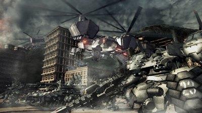 Armored Core V Screenshot
