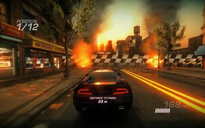 Ridge Racer Unbounded - Selbstgemachter Screenshot
