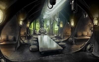 Konzeptzeichnung zu Jack Houston and the Necronauts