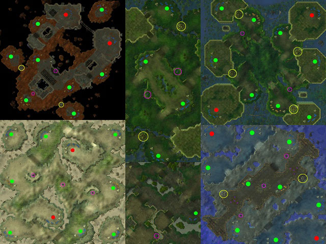 Starcraft 2 Multiplayer Maps