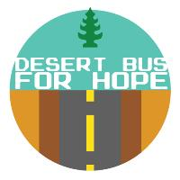 Logo von Desert Bus for Hope