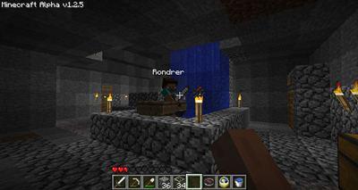 Minecraft Bootsaufzug