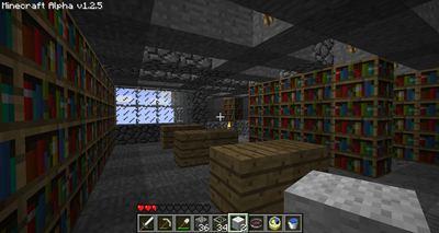 Minecraft Bibliothek