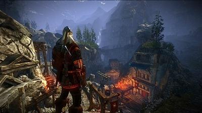 Herstellerbild zur Xbox 360-Version von The Witcher 2