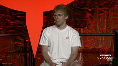 John Carmack bei seiner Keynote auf der QuakeCon 2013