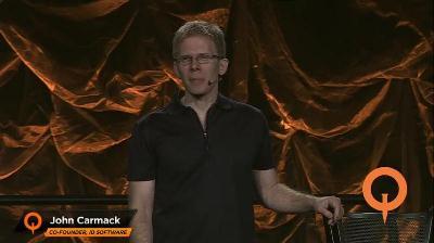 John Carmack auf der QuakeCon 2012