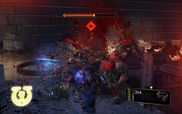 Blutiges Orkgemetzel in Warhammer 40.000: Space Marine
