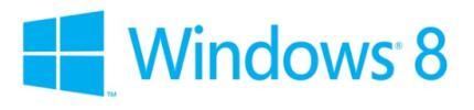 Logo von Windows 8