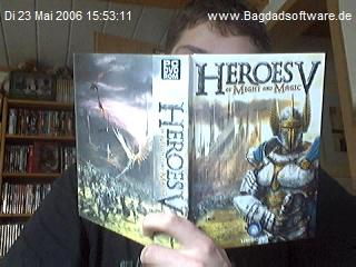 Gefälschtes Heroesbuch