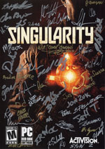 Singularity signiertes Front Cover