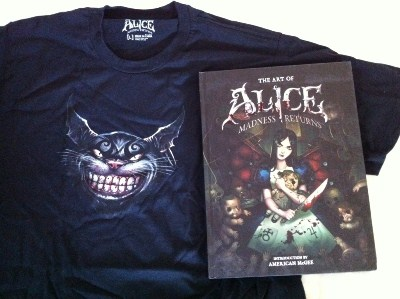 Alice Madness Returns T-Shirt und Artbook
