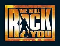 Logo von We Will Rock You