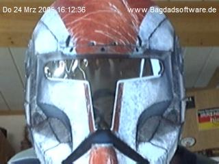 Der Webmaster mit der Clone-Trooper-Maske