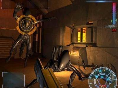 Herstellerbild zum eingestellten Aliens: Colonial Marines auf der PS2 von 2001