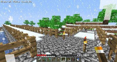 Minecraft – Autobahn  Ausbauende