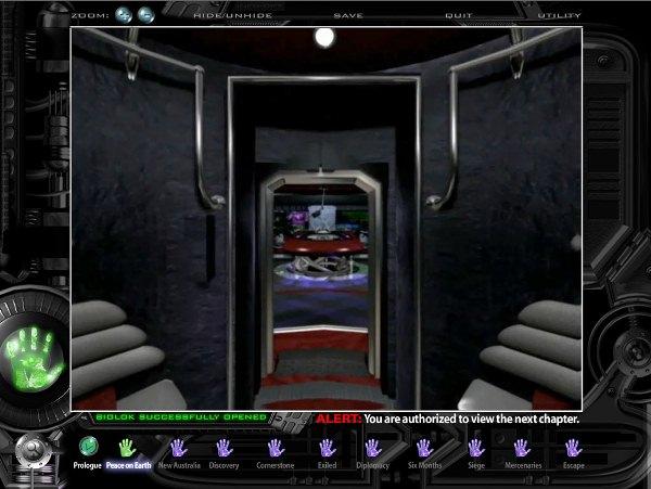 Screenshot aus Darkstar – The Interactive Movie