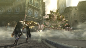Screenshot von Bayonetta