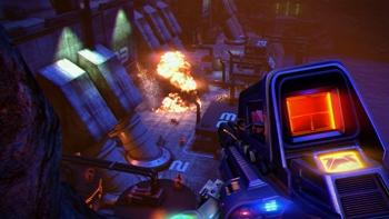 Herstellerbild zu Far Cry 3: Blood Dragon
