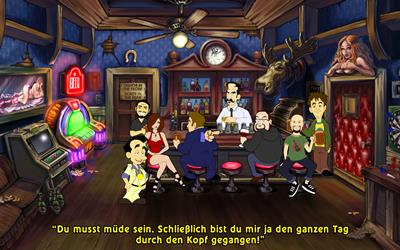 Screenshot aus Leisure Suit Larry in the Land of the Lounge Lizards: Reloaded