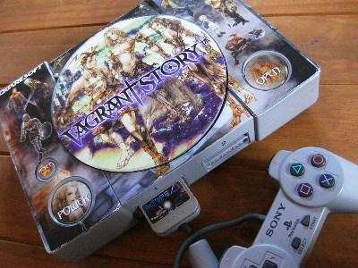 Beklebte PlayStation