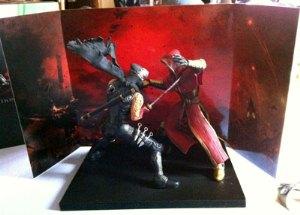 Das Diorama aus der Ninja-Gaiden-3-Collector's-Edition
