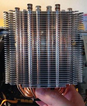 Foto vom CPU-Kühler