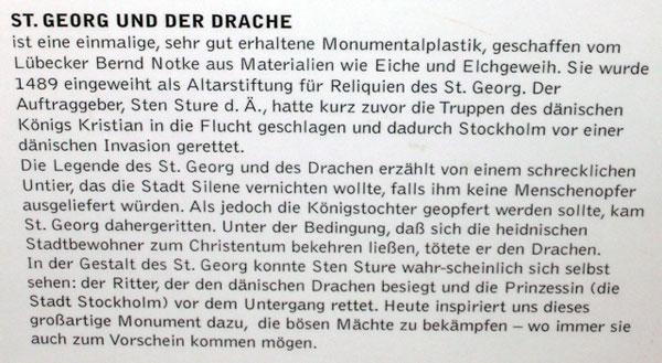 St. Georg und der Drache