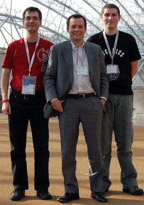 Marc, Jörg und Christoph auf der GC