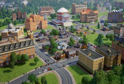 Herstellerbild zu SimCity
