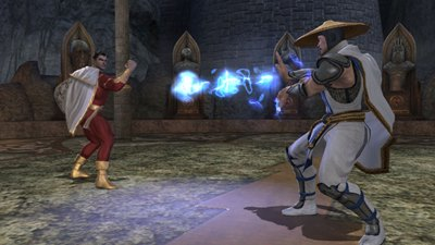 Herstellerbild zu Mortal Kombat vs. DC Universe
