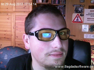Sicarius mit Brille