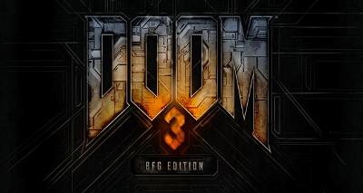 Teaserlogo zur BFG Edition von DOOM 3
