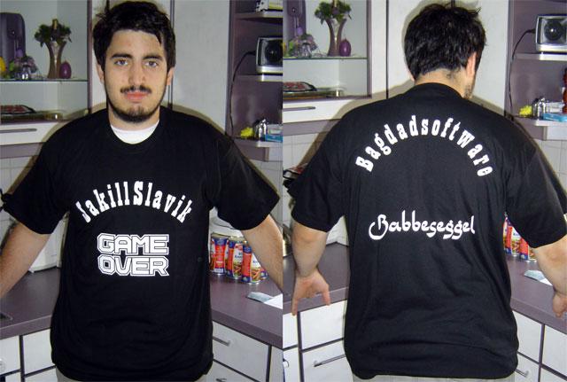 Jackie mit Bagdadsoftware T-Shirt