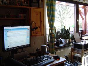 Das Zimmer des Webmasters