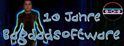 Ein bewusst hässlicher Banner zum 10. Jahrestag