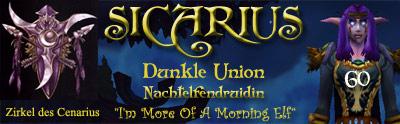 World of Warcraft Signatur