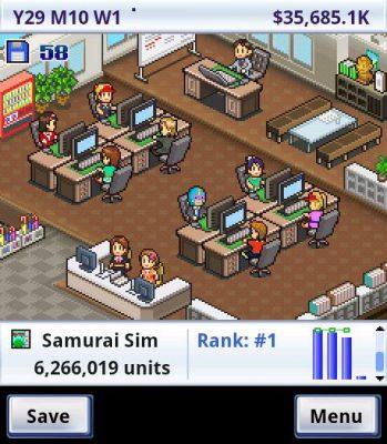 Game Dev Story (Screenshot)