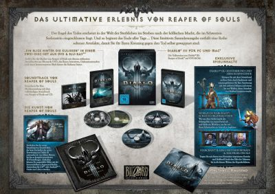 Diablo III: Reaper of Souls (Collector's Edition) Promobild