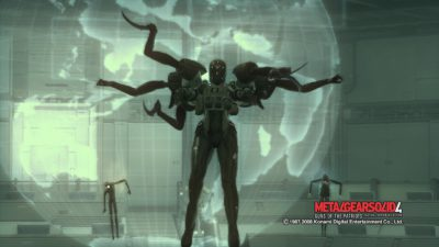 Screaming Mantis (Hier in Metal Gear Solid 4: Guns of the Patriots)