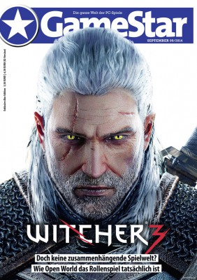 Cover der GameStar 09/2014