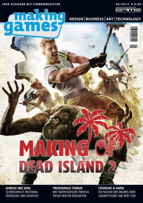 Cover der Making Games 05/2014