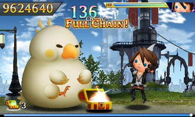 Theatrhythm Final Fantasy: Curtain Call  (Herstellerbild)