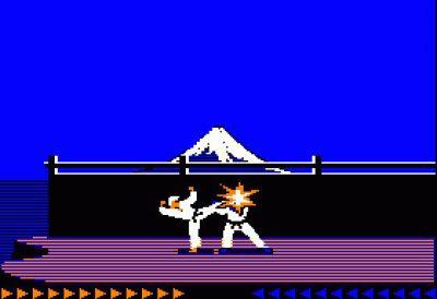 Karateka (Quelle: MobyGames)
