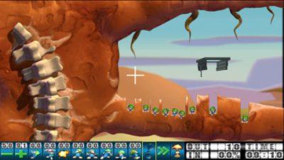 Lemmings (PSP, Herstellerbild)