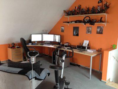 Das Arbeitszimmer des Webmasters