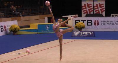 Maria Titova bei den Berlin Masters 2013 (Quelle: YouTube)