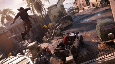 Uncharted 4: A Thief's End (Herstellerbild)