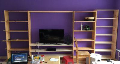Fernsehwand Marke DIY