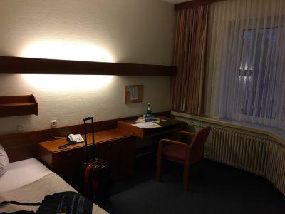 Das Zimmer für die nächsten Wochen